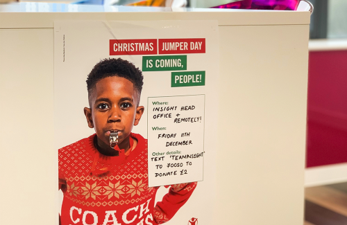 Insight Systems supports Save The Children , Christmas Jumper Day